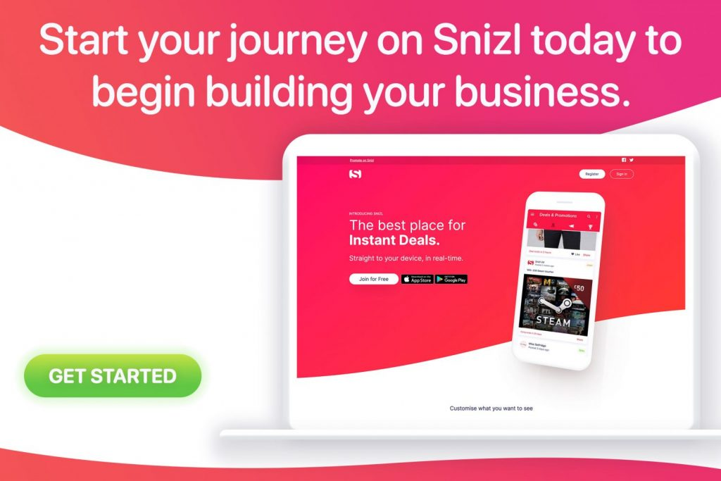 sign up today. Snizl FAQ